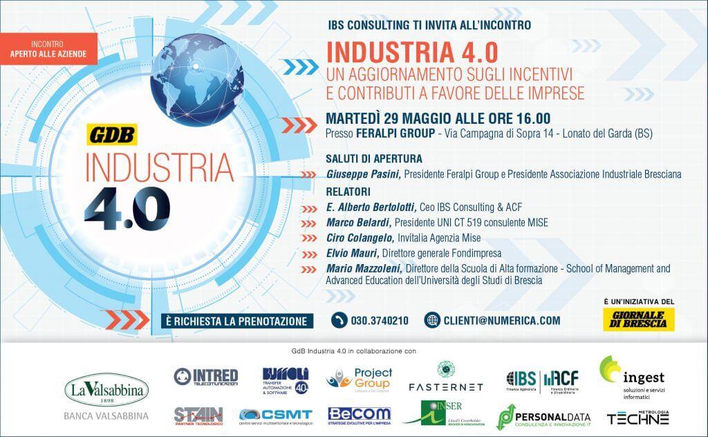 IBS Consulting - Industria 4.0 incentivi e contributi